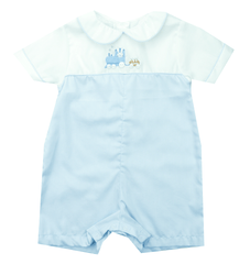 Petit Ami Embroidered Bunny Romper