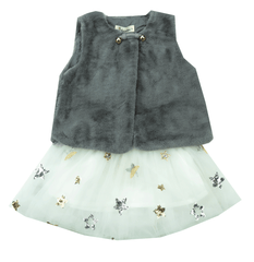 Doe A Dear Star Sequined Skirt