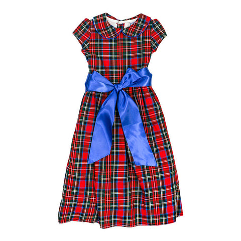 The Bailey Boys Wales Plaid Empire Dress