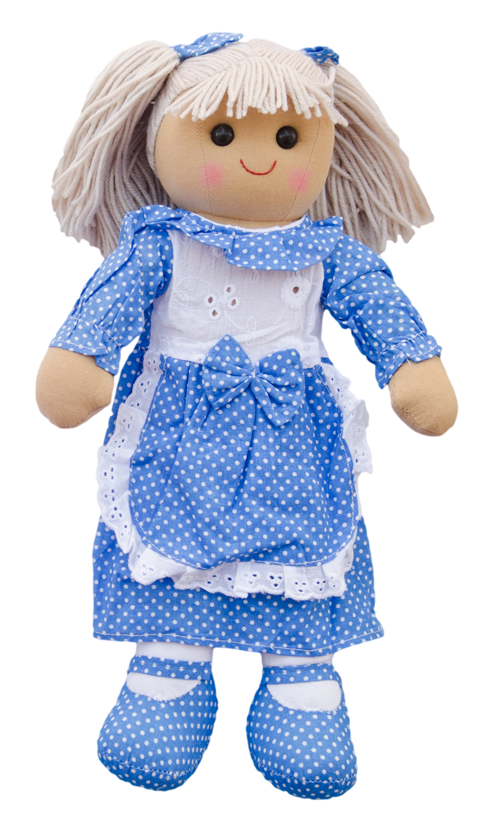 Powell Craft Apron Doll - Kids on King
