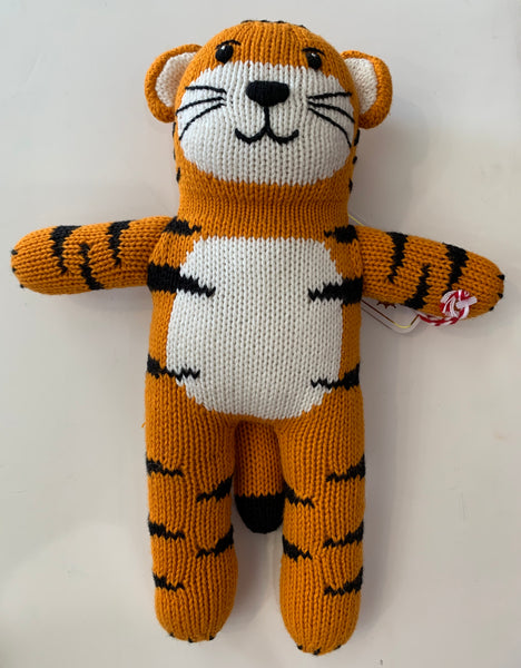 Zubels by Petit Ami Crochet Tiger Doll - Kids on King