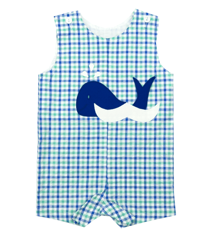 Funtasia Too Whale Appliqué  Shortall