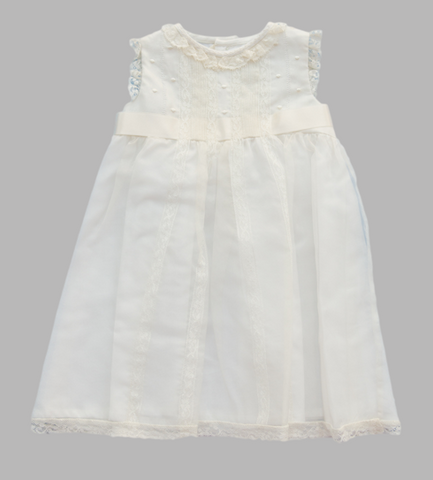 Luli and Me Organza Lace Dress - Baby Girl