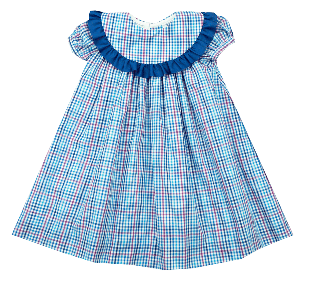 The Bailey Boys Heritage Plaid Float Dress