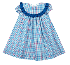 The Bailey Boys Heritage Plaid Peter Pan Collar Shirt