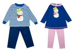 The Bailey Boys Reversible Snowman Jumper