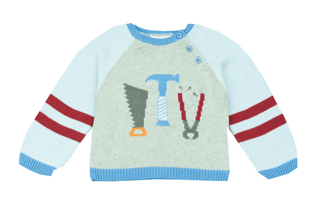 Zubels Carpenter Tools Sweater