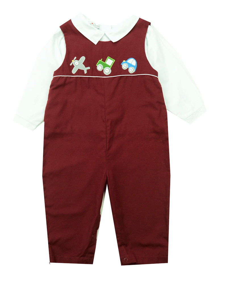 Petit Ami Two Piece On The Move Applique Longall