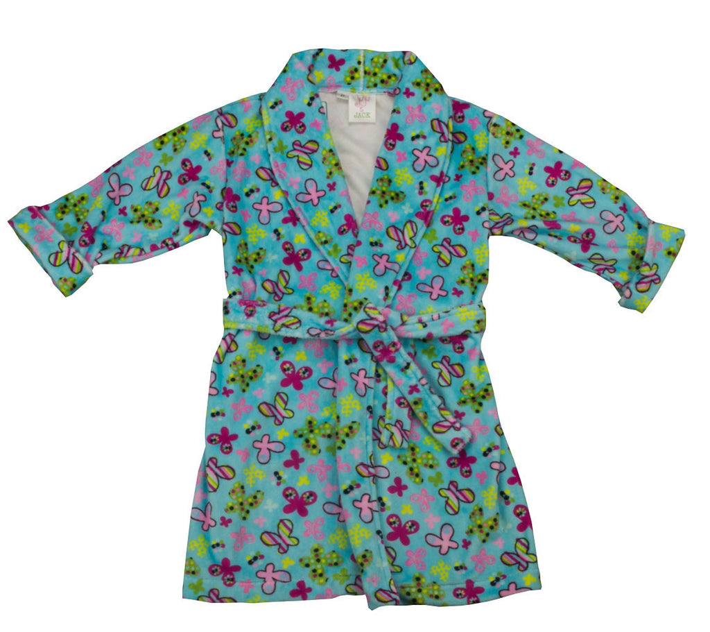 Juju and Jack  Butterfly Robe - Kids on King