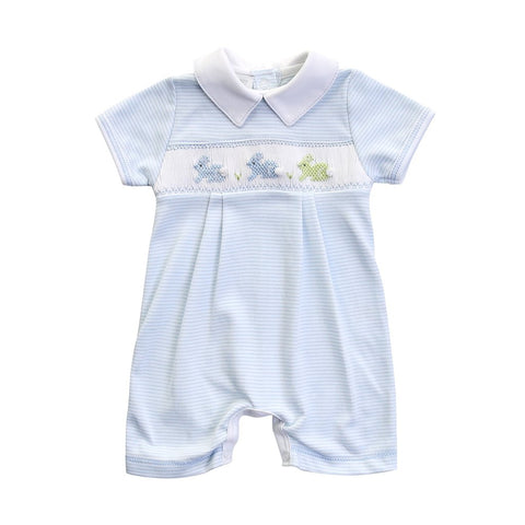 Magnolia Baby Smocked Bunny Playsuit