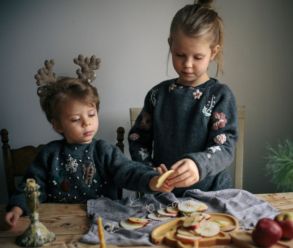 Christmas time in Shirley Bredal sweaters