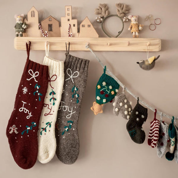 Christmas stockings and advent calender