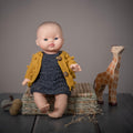 Dolls Bubble cardigan Mustard
