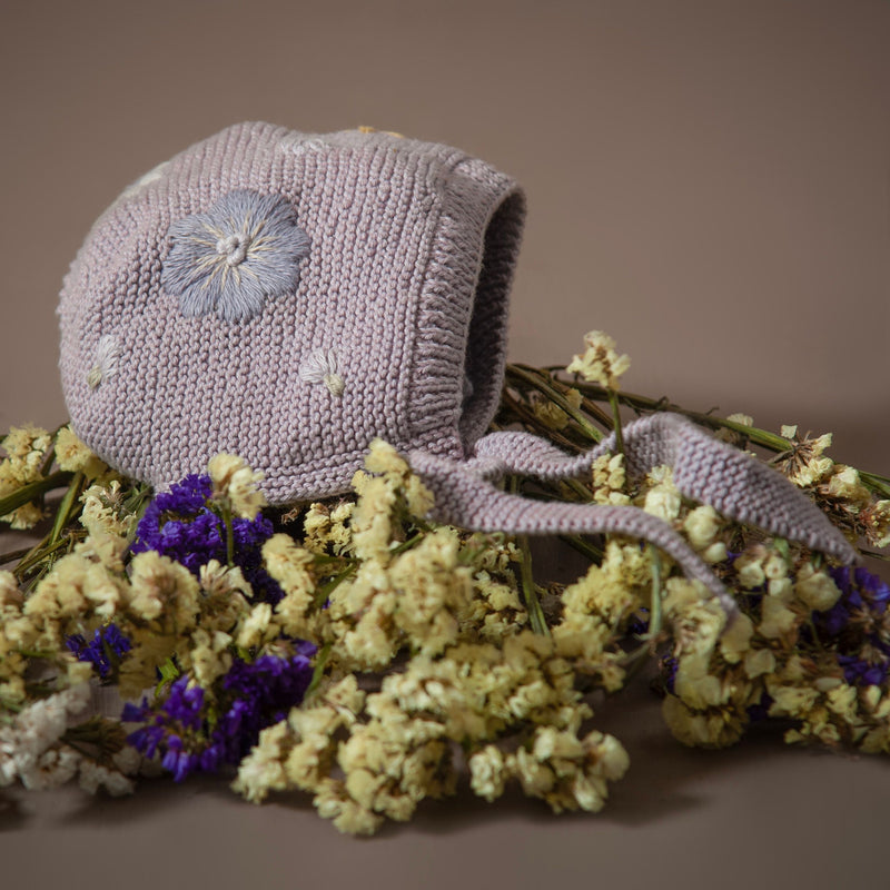 Flora bonnet Lilac (Cotton)