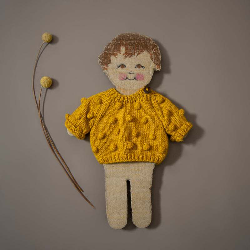 Dolls Bubble sweater Mustard