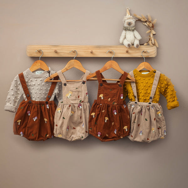 shelfie with corduroy clothing collection for kids and baby