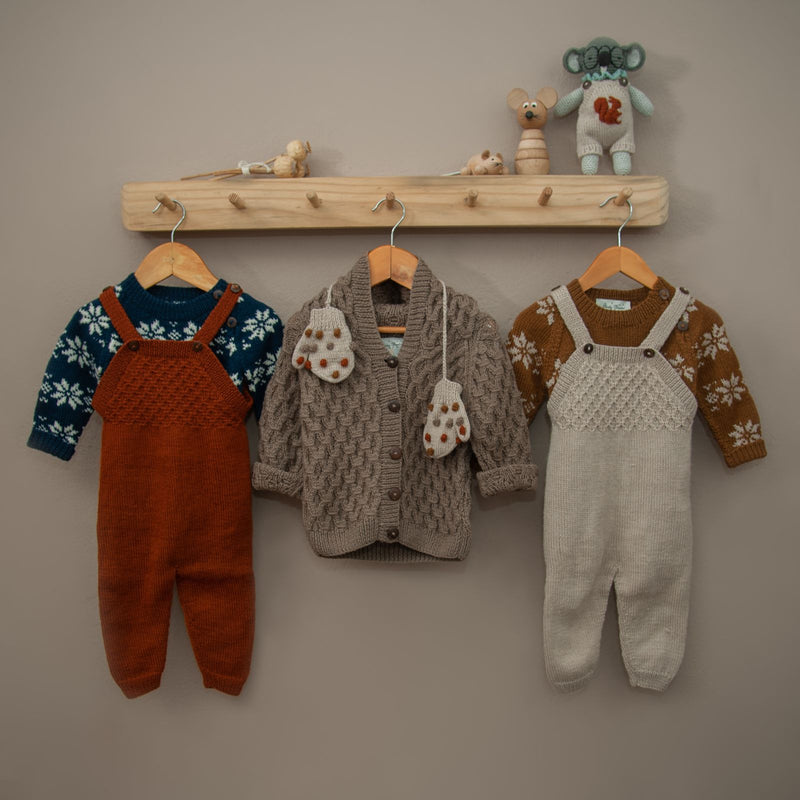 Star sweater Oats & Caramel, baby