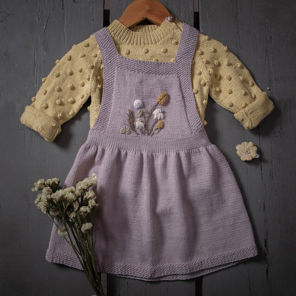 Wildflower dress Lilac, baby (Cotton)