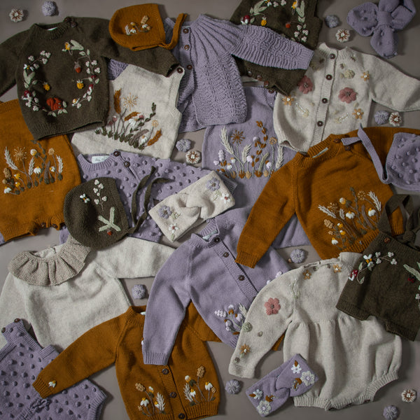 hand knitted baby and kids clothes