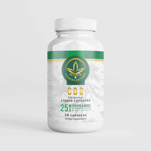 CBD Liquid Capsules 25mg Full Spectrum