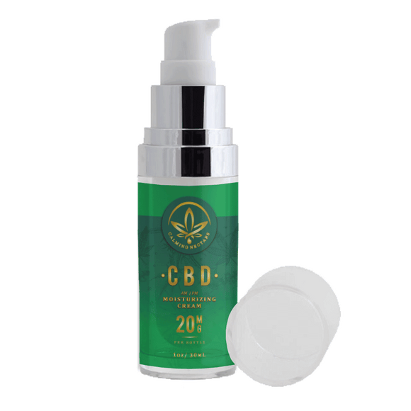 CBD AM-PM Moisturizing Cream 20mg