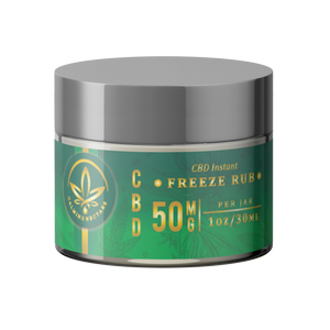 CBD Instant Freeze Rub 50mg
