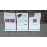 Mini Retractable banner