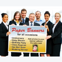 Paper Banner