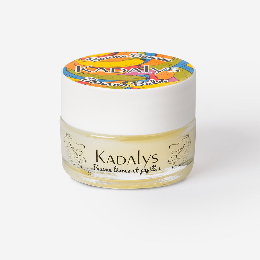 Organic Banana Lip Balm - Hydrates, Repairs, Nourishes by Kadalys