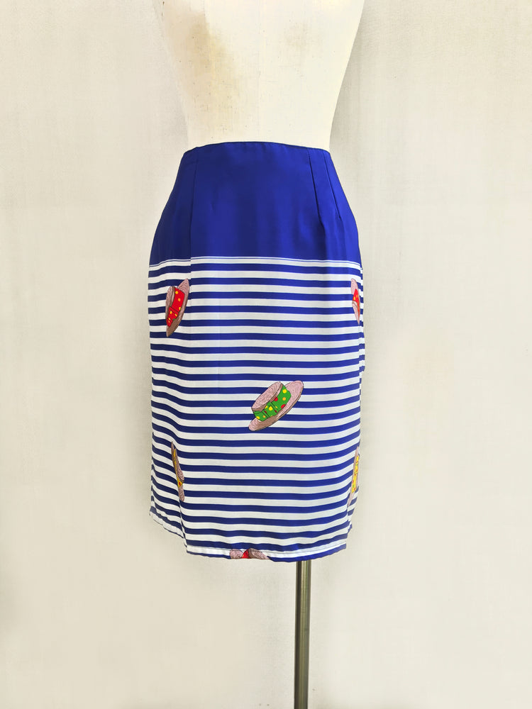 Hats & Stripes A-line Skirt