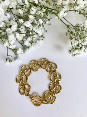 Load image into Gallery viewer, Golden Pretzels Bracelet