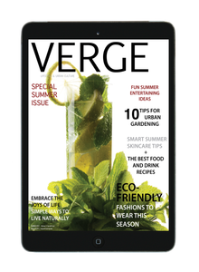 VERGE Magazine 2019 - Special Summer Issue (Digital)