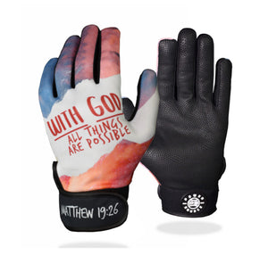 """All Things Are Possible"" Batting Gloves"