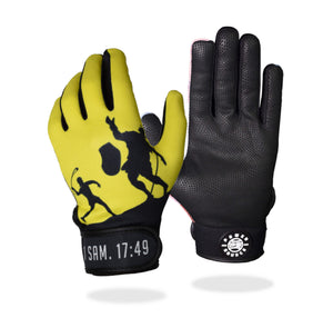 """Take On Goliath"" Batting Gloves"