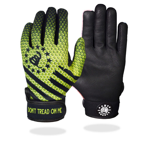 """Don't Tread On Me"" Batting Gloves"