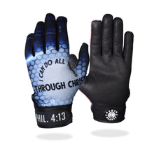 "Load image into Gallery viewer, ""All Things Through Christ"" Batting Gloves"