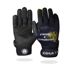 """Strong & Courageous"" Batting Gloves"