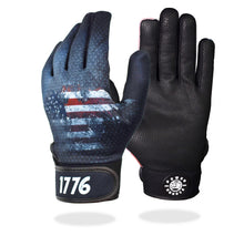 "Load image into Gallery viewer, ""True Patriot"" Batting Gloves"