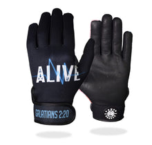 "Load image into Gallery viewer, ""ALIVE!"" Batting Gloves"