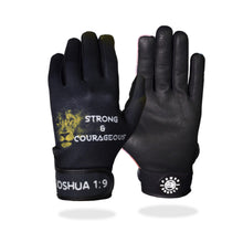 "Load image into Gallery viewer, ""Strong & Courageous"" Batting Gloves"