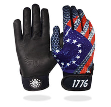 "Load image into Gallery viewer, ""Betsy Ross Flag"" Batting Gloves"