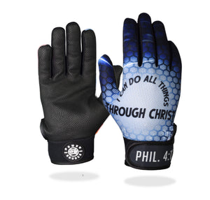 """All Things Through Christ"" Batting Gloves"