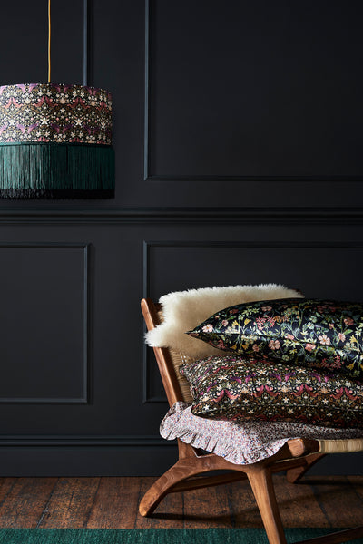 Creating cosy with Coco & Wolf's Liberty fabric products