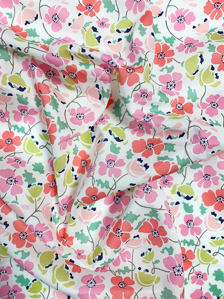 Liberty print exclusive fabrics for Coco & Wolf, Edie