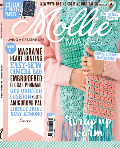 mollie makes issue 88 cover