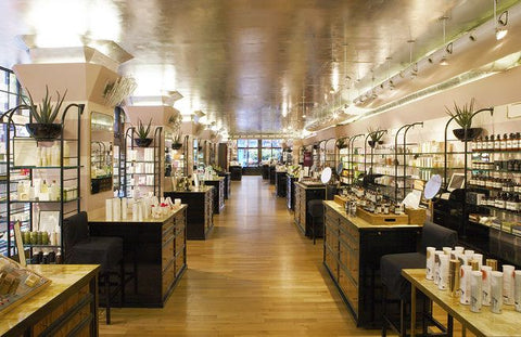 Beauty department at Liberty of London by Vogue via Pinterest
