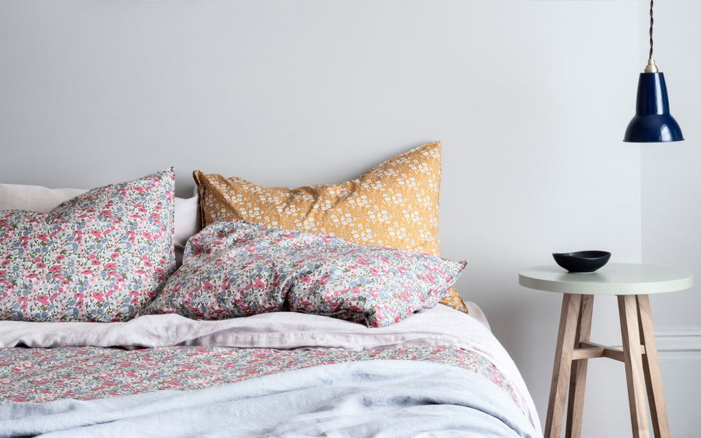 coco and wolf liberty print bedding 40th anniversary collection