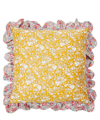 coco and wolf floribunda liberty london scallop frill cushion summer blooms swirling petals