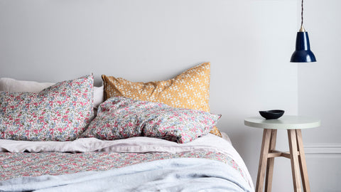 liberty print bedding coco and wolf 40th anniversary collection