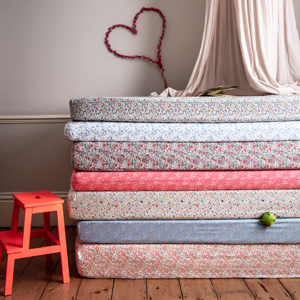 liberty print fitted sheets coco and wolf